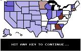 President Elect Commodore 64 The projected outcome of the election.