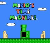 Mario's Time Machine NES Title Screen