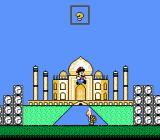 Mario's Time Machine NES Landmarks may not be to exact scale.