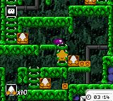 Toki Tori  Game Boy Color Slimy level