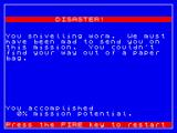 Mission Omega ZX Spectrum Disaster!