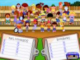 "Backyard Baseball Windows Pick your players. Annoyingly, this was when they made it ""realistic"" by not having every player on the bleachers available during a single game."