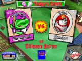Backyard Baseball Windows Just in case you forgot who was playing today's game. You can also swap who is the home and away team.