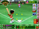 Backyard Baseball Windows Every time you strike somebody out, you get a powerup. And the mother of them all...the fireball!
