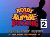 Ready 2 Rumble Boxing: Round 2 PlayStation Title screen