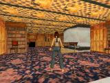 Tomb Raider PlayStation Lara's home: The library.