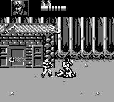 Double Dragon III: The Sacred Stones Game Boy Jump on defenceless enemy