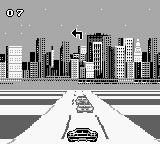 Lamborghini: American Challenge Game Boy Turn left