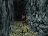 Tomb Raider II PlayStation One of a new features of this game is the flares and Lara can use it in dark areas.