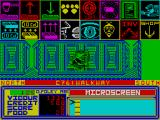 A Ticket to Ride ZX Spectrum Labyrinth of corridors