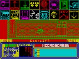A Ticket to Ride ZX Spectrum Colours in this room are shocking :P