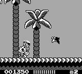 Adventure Island II Game Boy Deadly bird