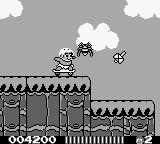 Adventure Island II Game Boy Spider