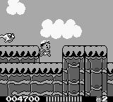 Adventure Island II Game Boy Frog