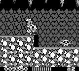 Adventure Island II Game Boy Enemy - flying skull