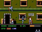 RoboCop 3 SEGA Master System Two gunmen pointing their guns at Robocop