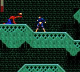 X-Men Game Gear He looks like a spider-man