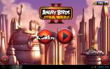 Angry Birds: Star Wars II Android Title screen.