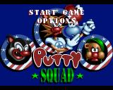 Putty Squad Amiga Title screen