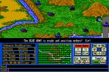 Operation Com●Bat: Computer Battle Game Amiga Starting out in Rocky Canyon