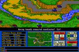 Operation Com●Bat: Computer Battle Game Amiga Another unit advances at the bottom of the map