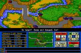 Operation Com●Bat: Computer Battle Game Amiga A tank placed at a strategic point