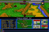 Operation Com●Bat: Computer Battle Game Amiga Under enemy fire at the canyon