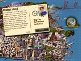 Big City Adventure: San Francisco iPad Game start - postcard Alcatraz Island