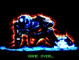 RoboCop 3 SEGA Master System Game Over