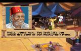 Quest for Glory III: Wages of War DOS Junk dealer