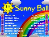 Sunny Ball Windows Power-up help