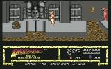 Indiana Jones and the Temple of Doom Commodore 64 Level 3: Get the Sankana Stone