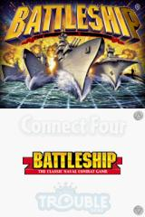 Battleship / Connect Four / Sorry! / Trouble Nintendo DS Battleship title screen