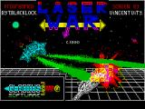 Laser War ZX Spectrum Title screen