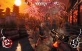 Shadow Warrior Windows Fighting a wave in the Survival mode.