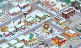 The Simpsons: Tapped Out Android Springfield in winter.
