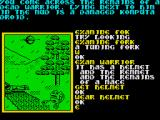Souls of Darkon ZX Spectrum The remains of a fallen warrior contain a wearable helmet.