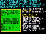Souls of Darkon ZX Spectrum The Woodsman is so glad of the new sharp Axe you gave him he gives you a Belt.