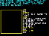 Souls of Darkon ZX Spectrum The game designer forgot to hide these items as despite not being able to see anything they are still pocketable.