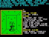 Souls of Darkon ZX Spectrum The star needs cooling down before you can pick it up.