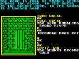 Souls of Darkon ZX Spectrum These snakes need calming before you can reach the door.