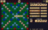Scrabble Atari ST In-game menus and board