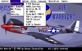 Air Warrior Amiga There are lots of vehicles to choose from