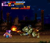 Nightmare Busters SNES These baddies aren't just blowing smoke; they're playing with fire! But don't get hot under the collar! Stop, drop and rock 'n' roll!