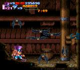 Nightmare Busters SNES As if Flynn wasn't already going batty from dealing with hordes of vicious enemies...