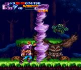 Nightmare Busters SNES Send your foes flying with a little foul weather!