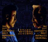 Demolition Man SNES Main menu