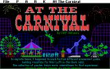At the Carnival DOS Title Screen