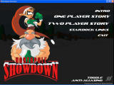 Northpole Showdown Windows Main menu