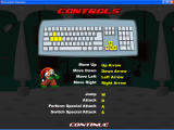 Northpole Showdown Windows Controls